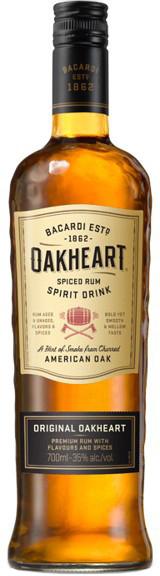 Bacardi Oakheart 0,7 ltr