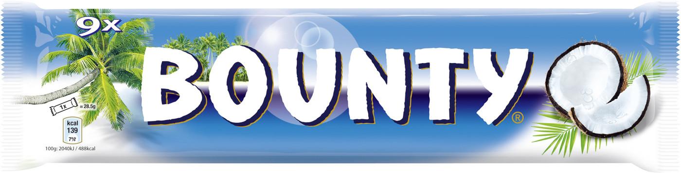 Besondere Geschenkideen von Edeka: Bounty Kokosriegel