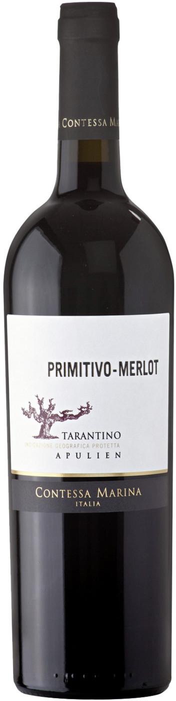Contessa Marina Primitivo-Merlot Rotwein 2017 0,75 ltr