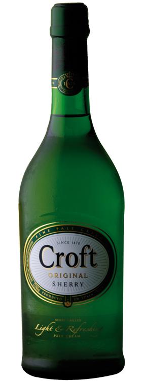 Besondere Geschenkideen von Edeka: Croft Original Fine Pale Cream Sherry