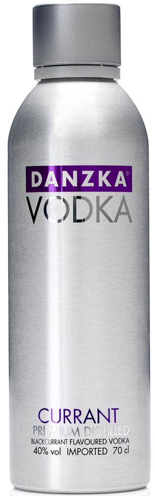 Besondere Geschenkideen von Edeka: Danzka Premium Vodka Currant