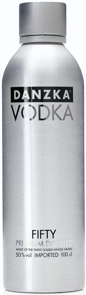 Besondere Geschenkideen von Edeka: Danzka Premium Vodka Fifty