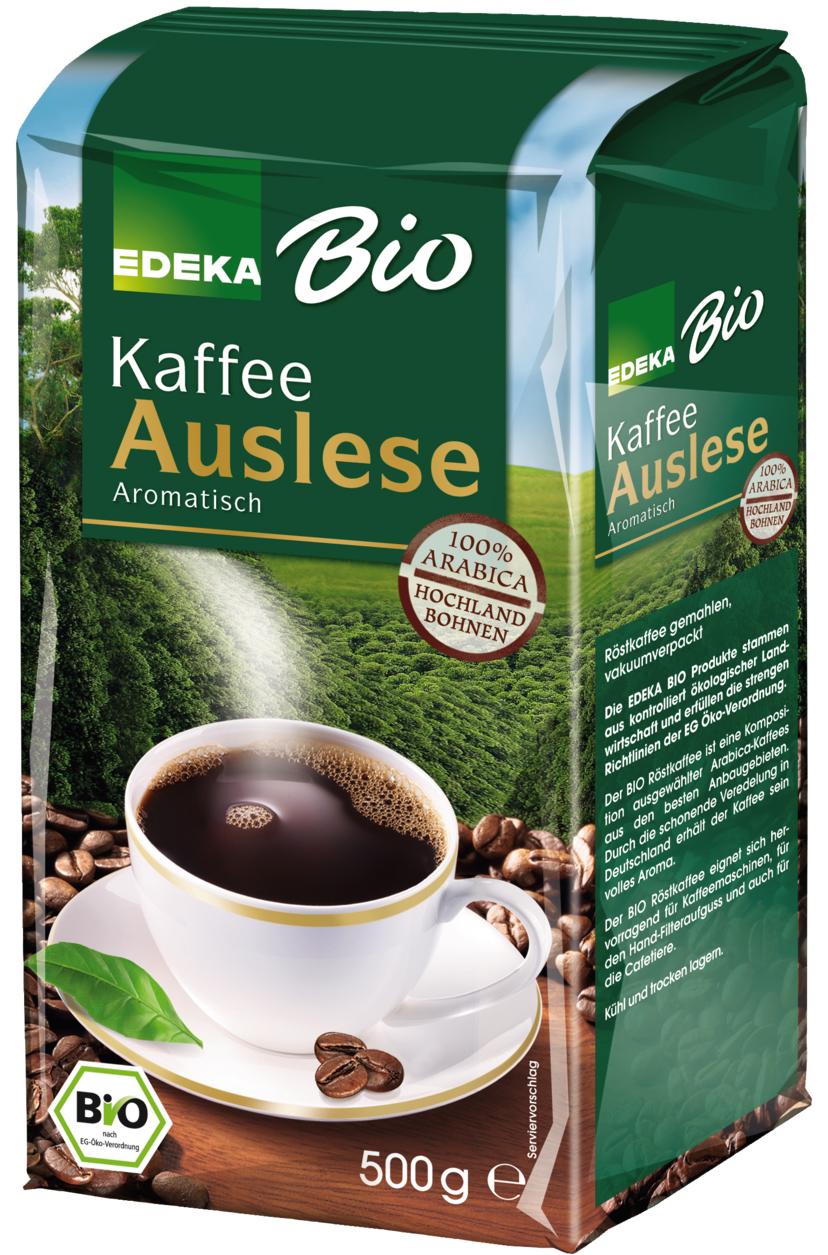 edeka24 edeka bio auslese kaffee gemahlen online kaufen. Black Bedroom Furniture Sets. Home Design Ideas