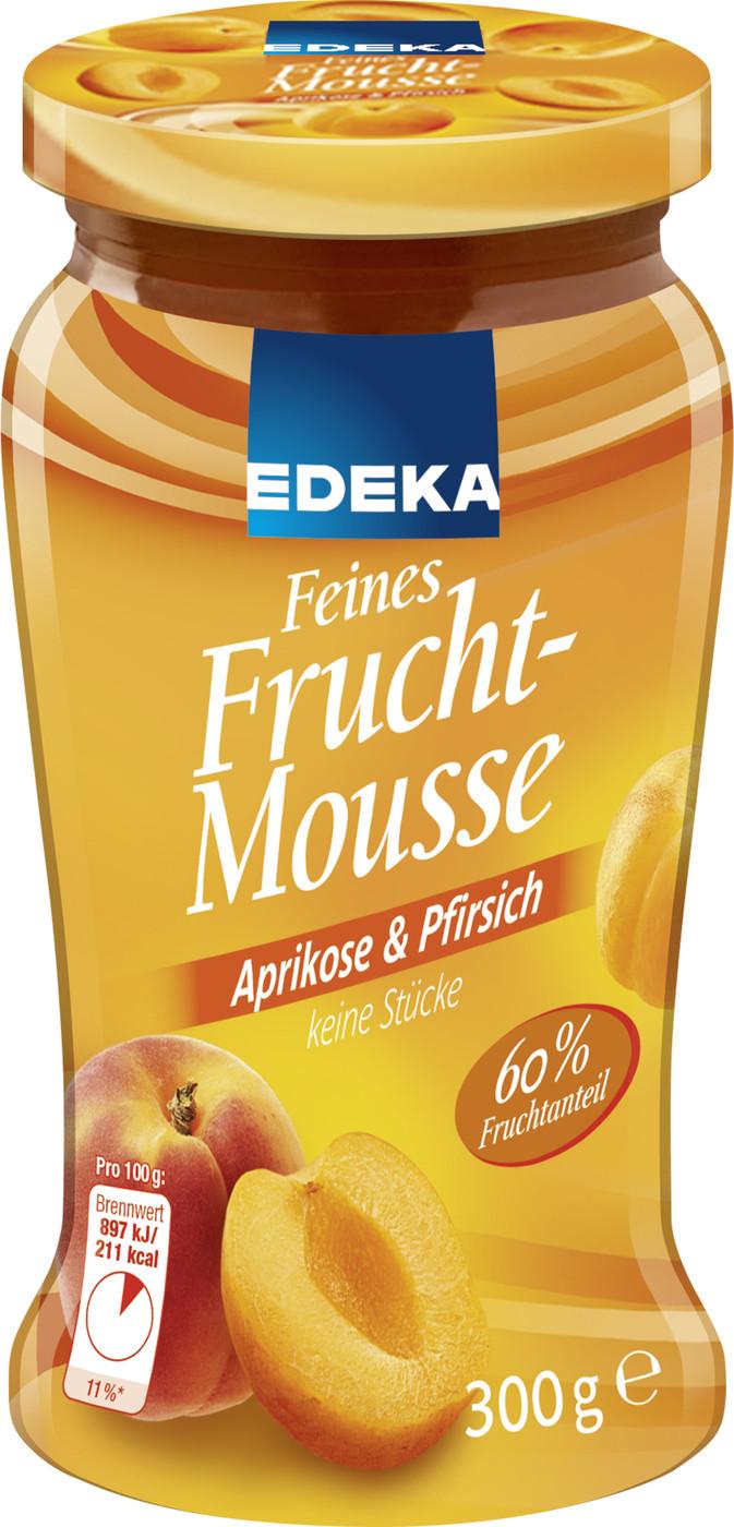 edeka24 edeka feines fruchtmousse aprikose pfirsich online kaufen. Black Bedroom Furniture Sets. Home Design Ideas