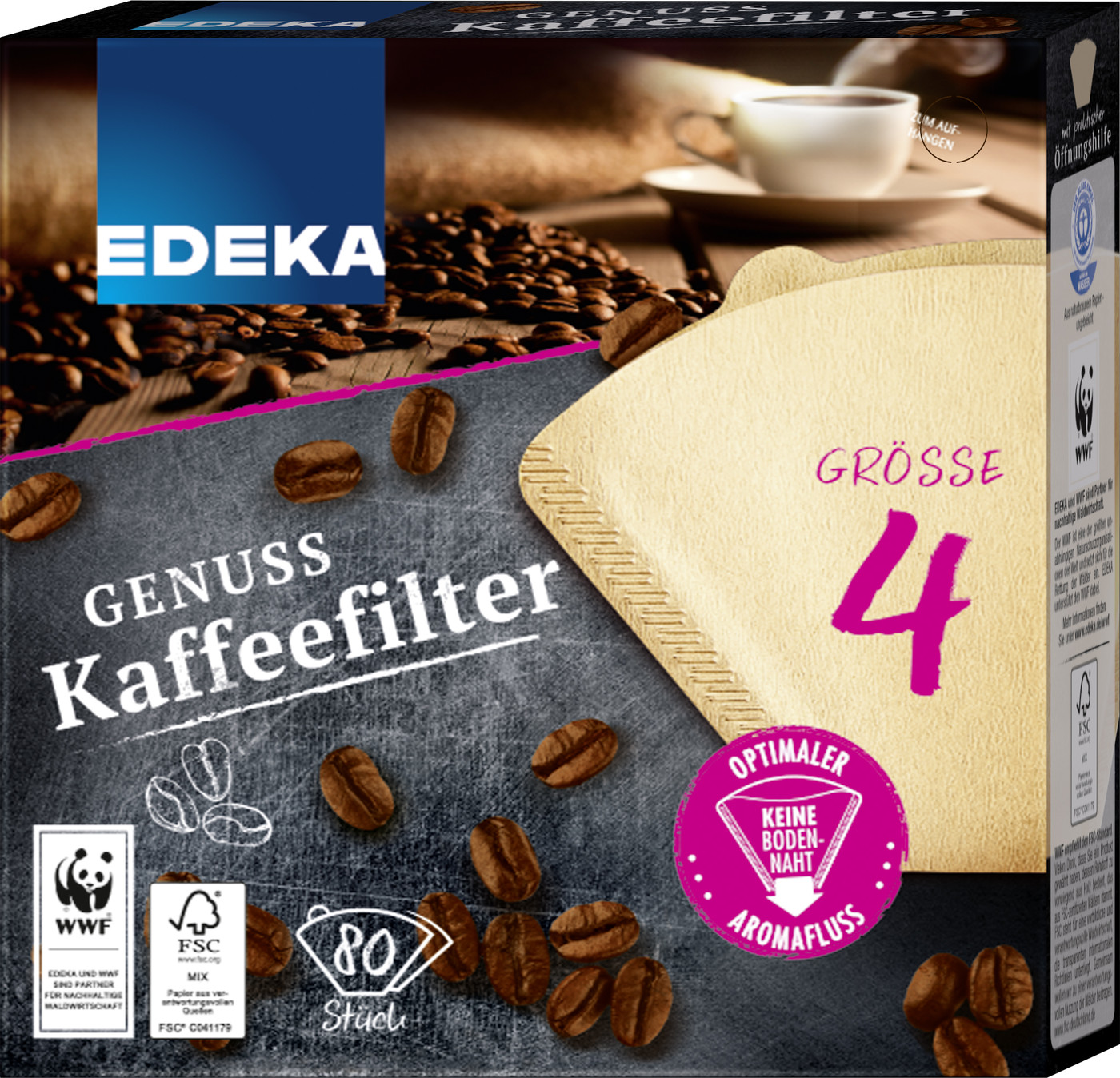 edeka24 edeka unsere besten kaffeefilter gr e 4 online kaufen. Black Bedroom Furniture Sets. Home Design Ideas