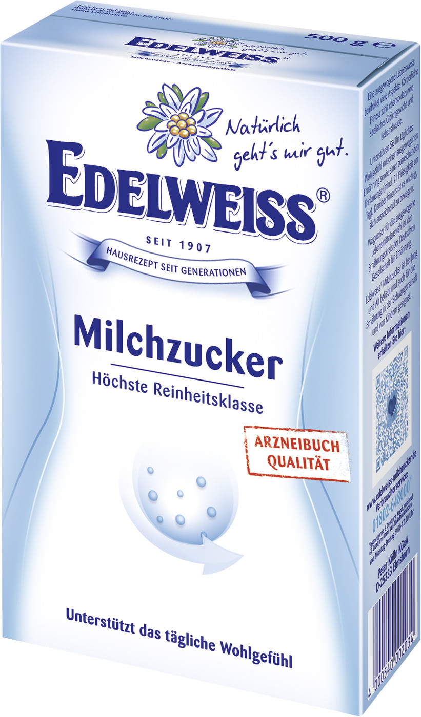 edeka24 edelweiss milchzucker online kaufen. Black Bedroom Furniture Sets. Home Design Ideas