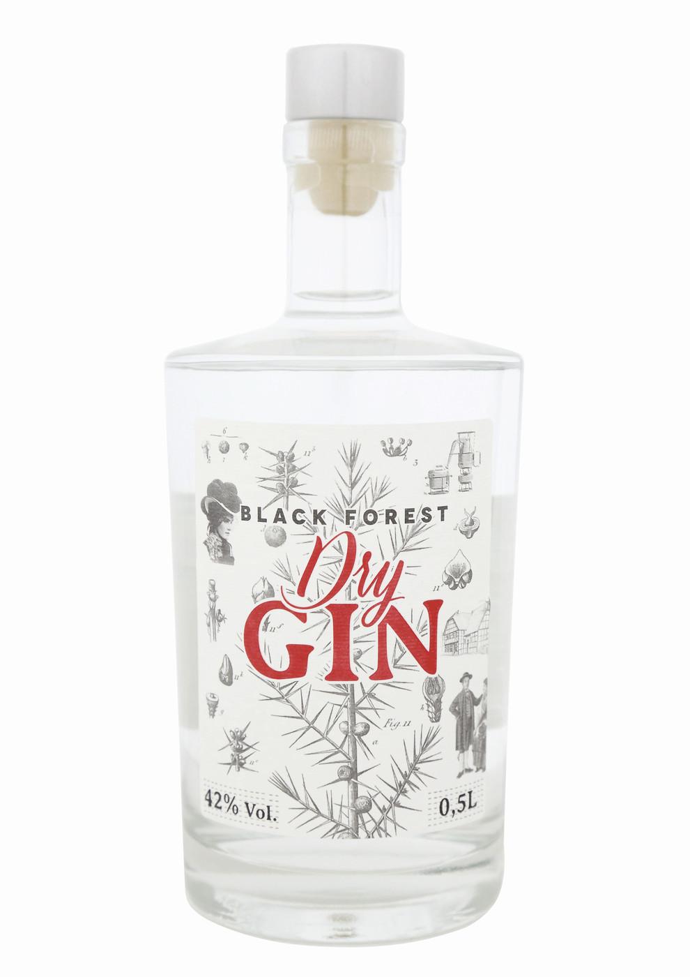 Besondere Geschenkideen von Edeka: Black Forest Dry Gin