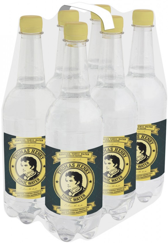 Thomas Henry Tonic Water PET Sixpack 6x 0,75 ltr