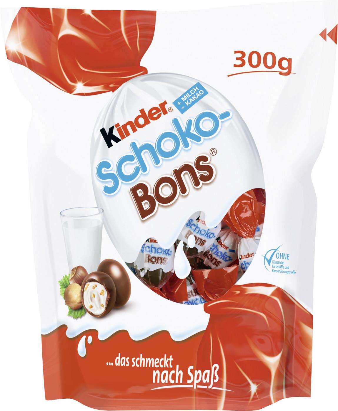 Besondere Geschenkideen von Edeka: Kinder Schoko Bons große Packung