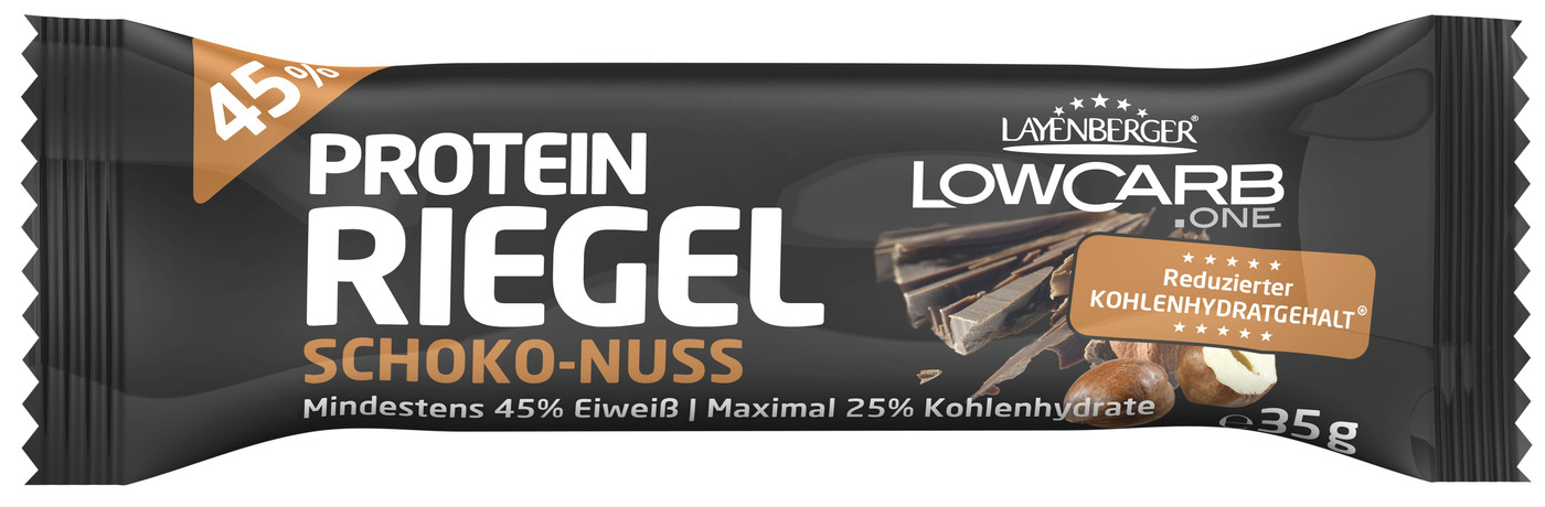 Besondere Geschenkideen von Edeka: Layenberger LowCarb.one Protein-Riegel S