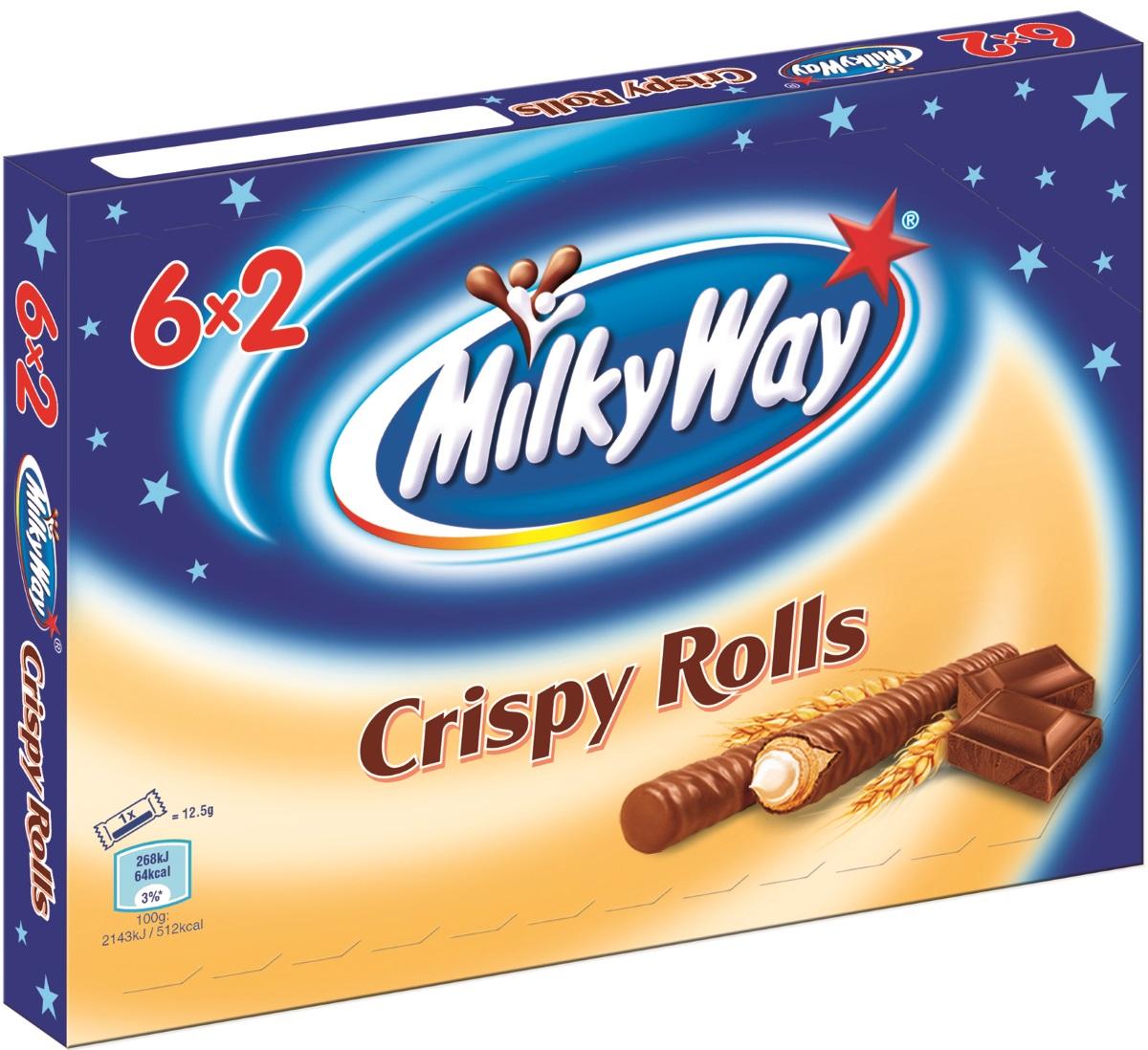 Besondere Geschenkideen von Edeka: Milky Way Crispy Rolls