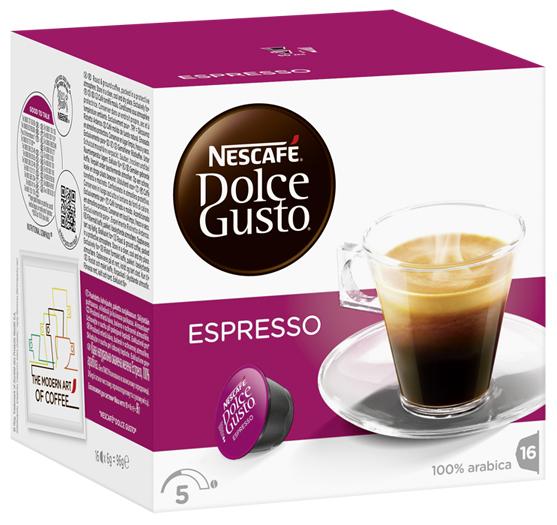 edeka24 nescaf dolce gusto espresso kapseln online kaufen. Black Bedroom Furniture Sets. Home Design Ideas