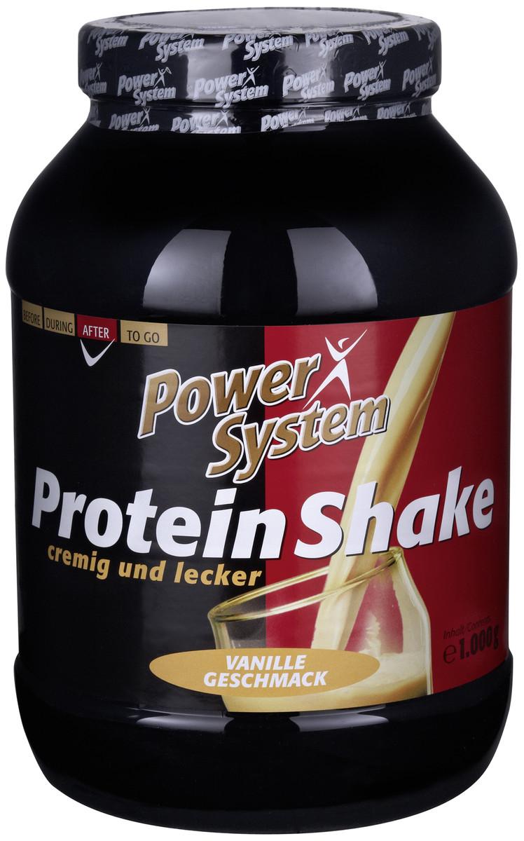 Besondere Geschenkideen von Edeka: Power System Protein Shake Vanille