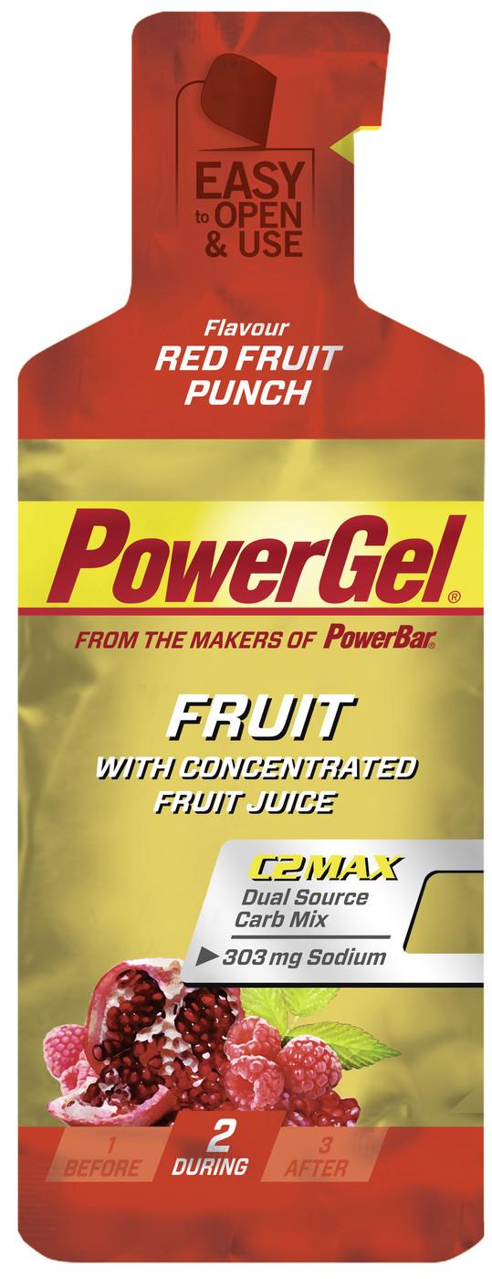 Besondere Geschenkideen von Edeka: PowerBar Gel Red Fruit Punch