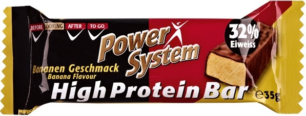 Besondere Geschenkideen von Edeka: Power System High Protein Bar Bananen