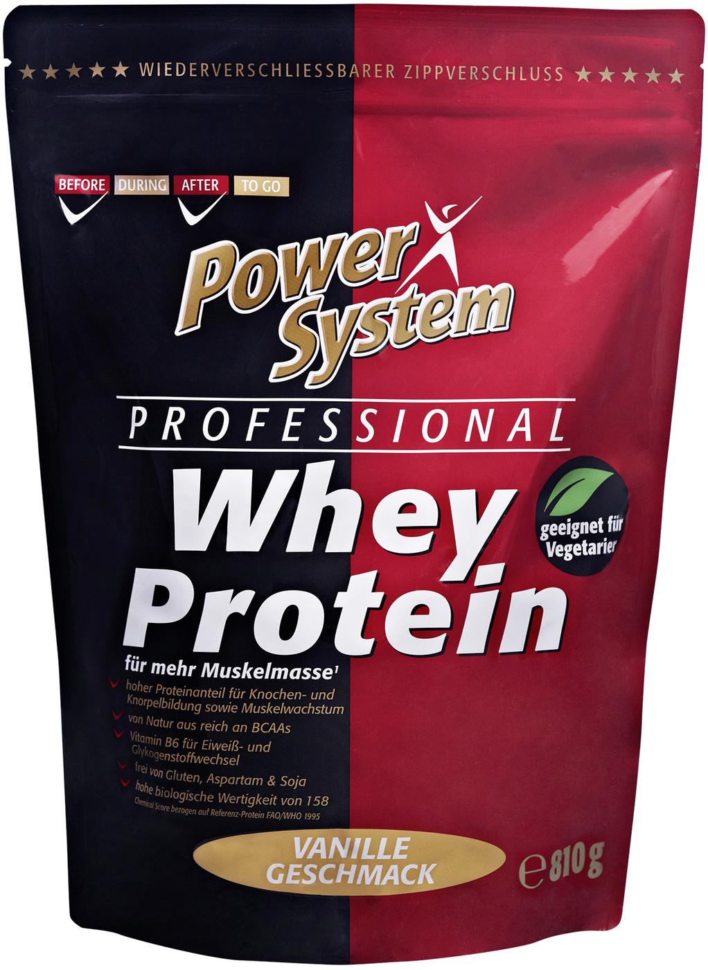 Besondere Geschenkideen von Edeka: Power System Professional Whey Protein V