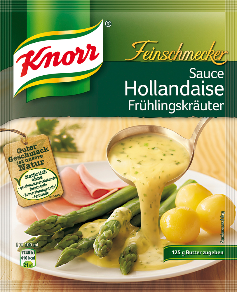 edeka24 knorr feinschmecker sauce hollandaise mit fr hlingskr uter online kaufen. Black Bedroom Furniture Sets. Home Design Ideas