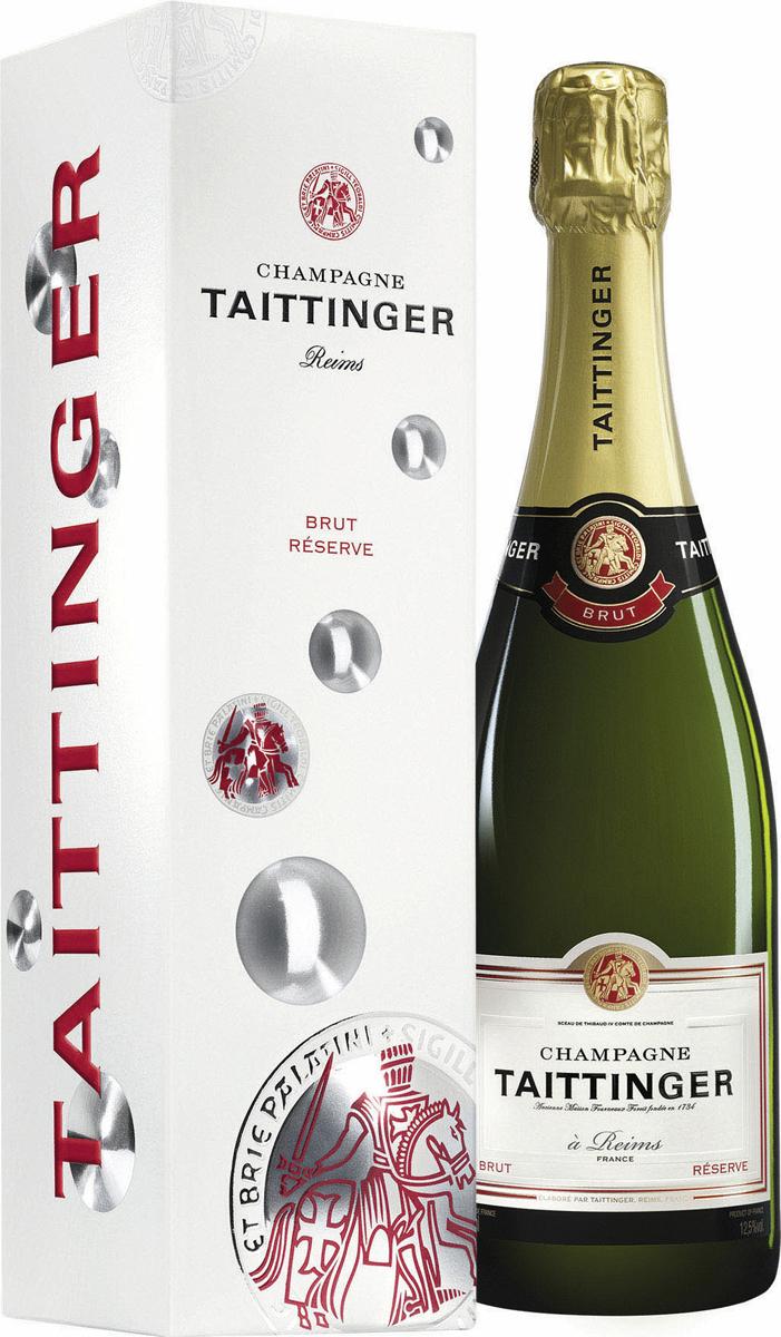 Besondere Geschenkideen von Edeka: Taittinger Champagner Brut Reserve