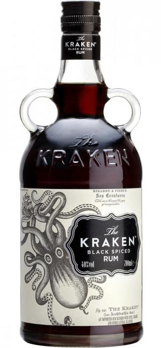 Besondere Geschenkideen von Edeka: The Kraken Black Spiced Rum