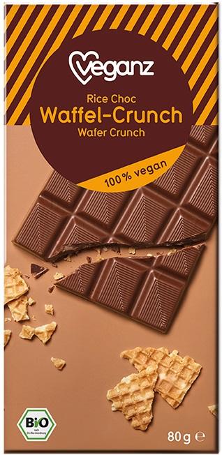Besondere Geschenkideen von Edeka: Veganz Bio Rice Choc Waffel-Crunch