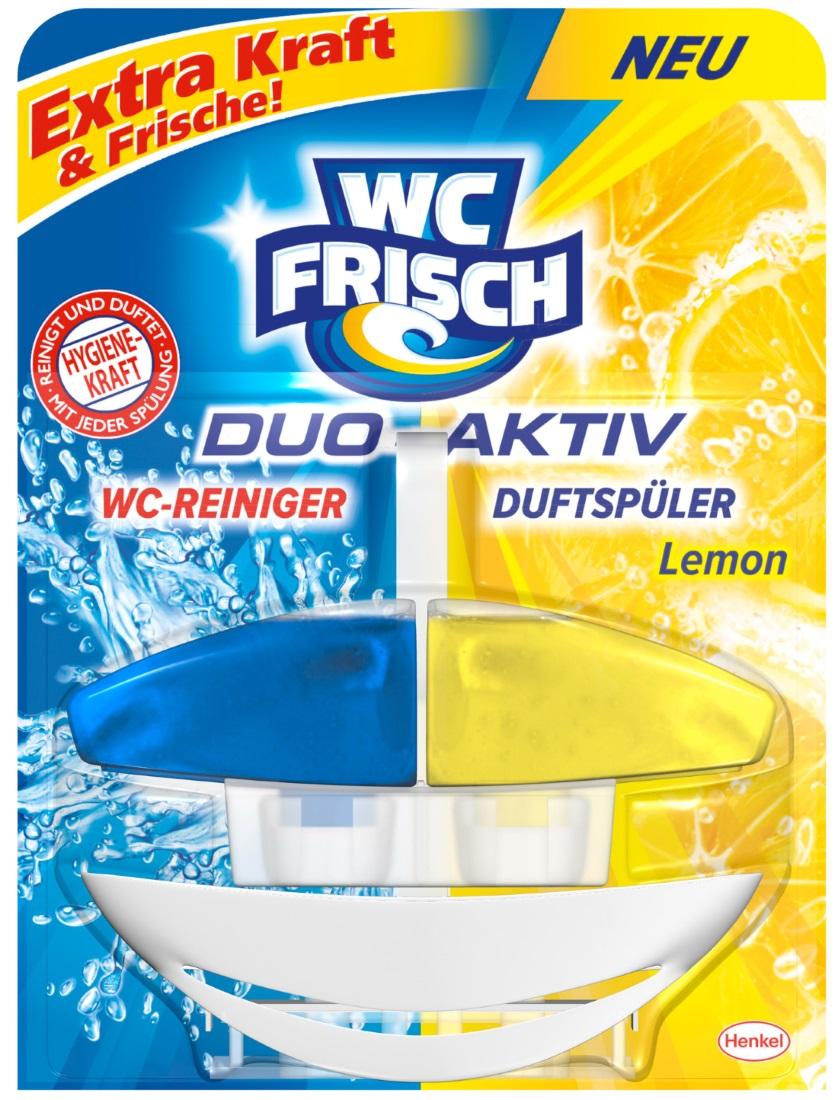 WC frisch WC-Reiniger Duo-Aktiv Lemon 50 ml