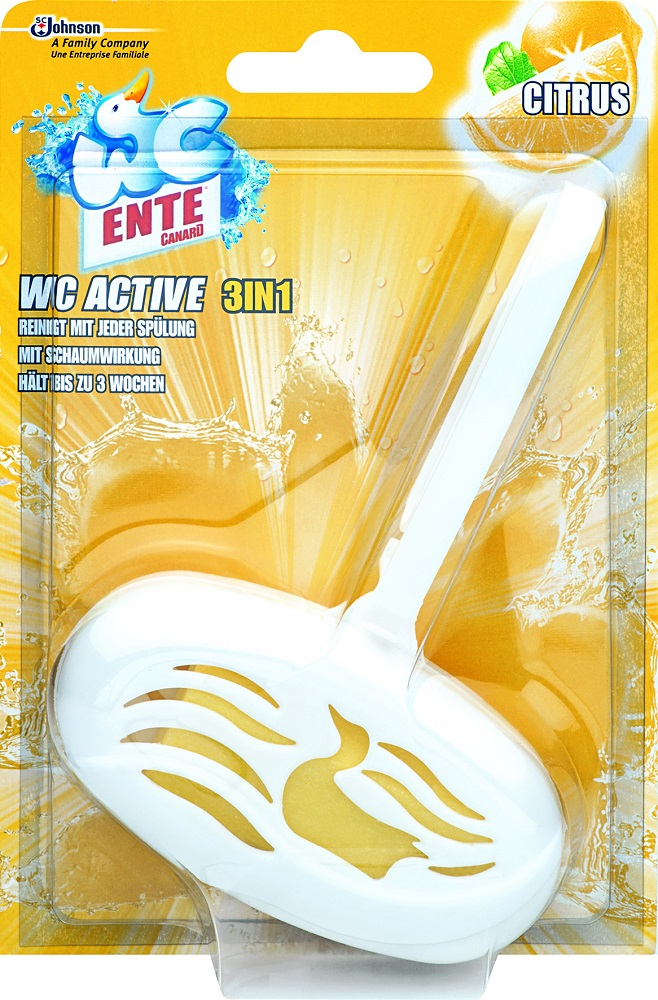 WC Ente WC active 3in1 Citrus 40 g
